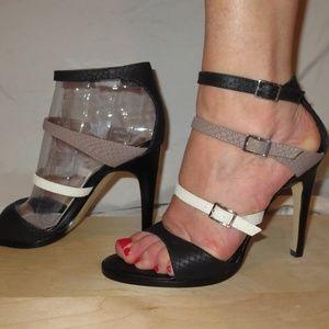 Dolce Vita Brown Black Talin Sandals